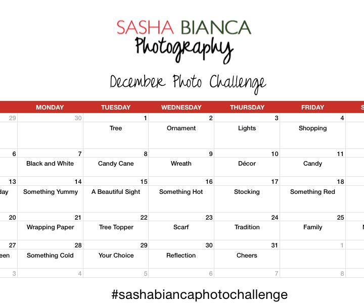 December Photo Challenge